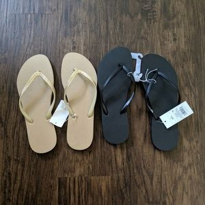 Mossimo Flip Flop Sandals Bundle